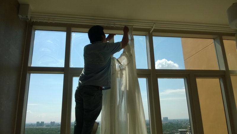 Giặt rèm cửa chuyên nghiệp - uy tín